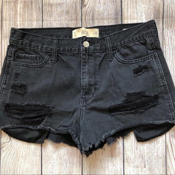 Hollister Pants - Hollister Short-Short High Rise Distressed Shorts